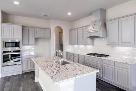 Kitchen-in-Leighton-at-Parks at Legacy-in-Prosper