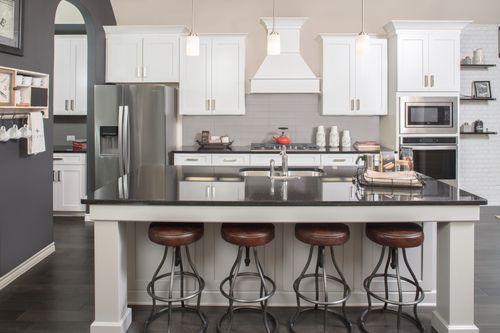 Kitchen-in-Kensington-at-Lakeside Estates at Paloma Creek-in-Little Elm