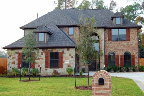 Albury Trails Estates By Dunn And Stone Builders In Houston Texas