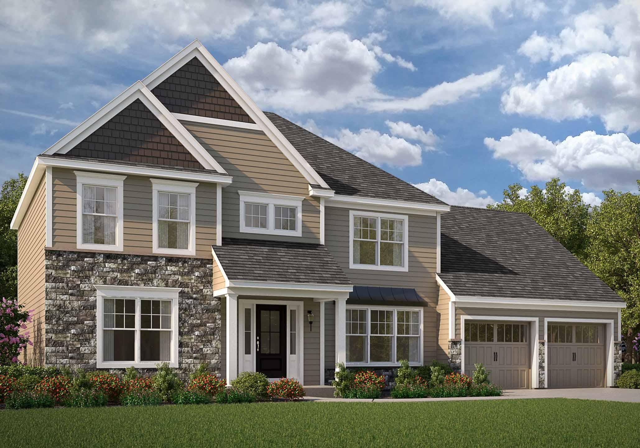 Exterior featured in the Brentwood By EGStoltzfus Homes, LLC in York, PA