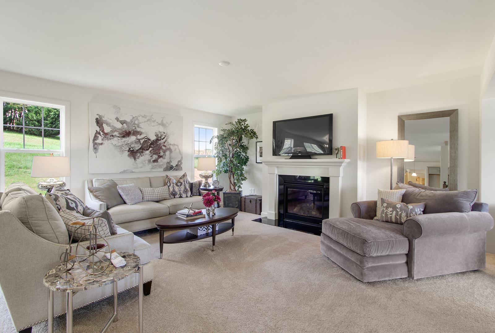 Living Area featured in the Brentwood By EGStoltzfus Homes, LLC in Lancaster, PA