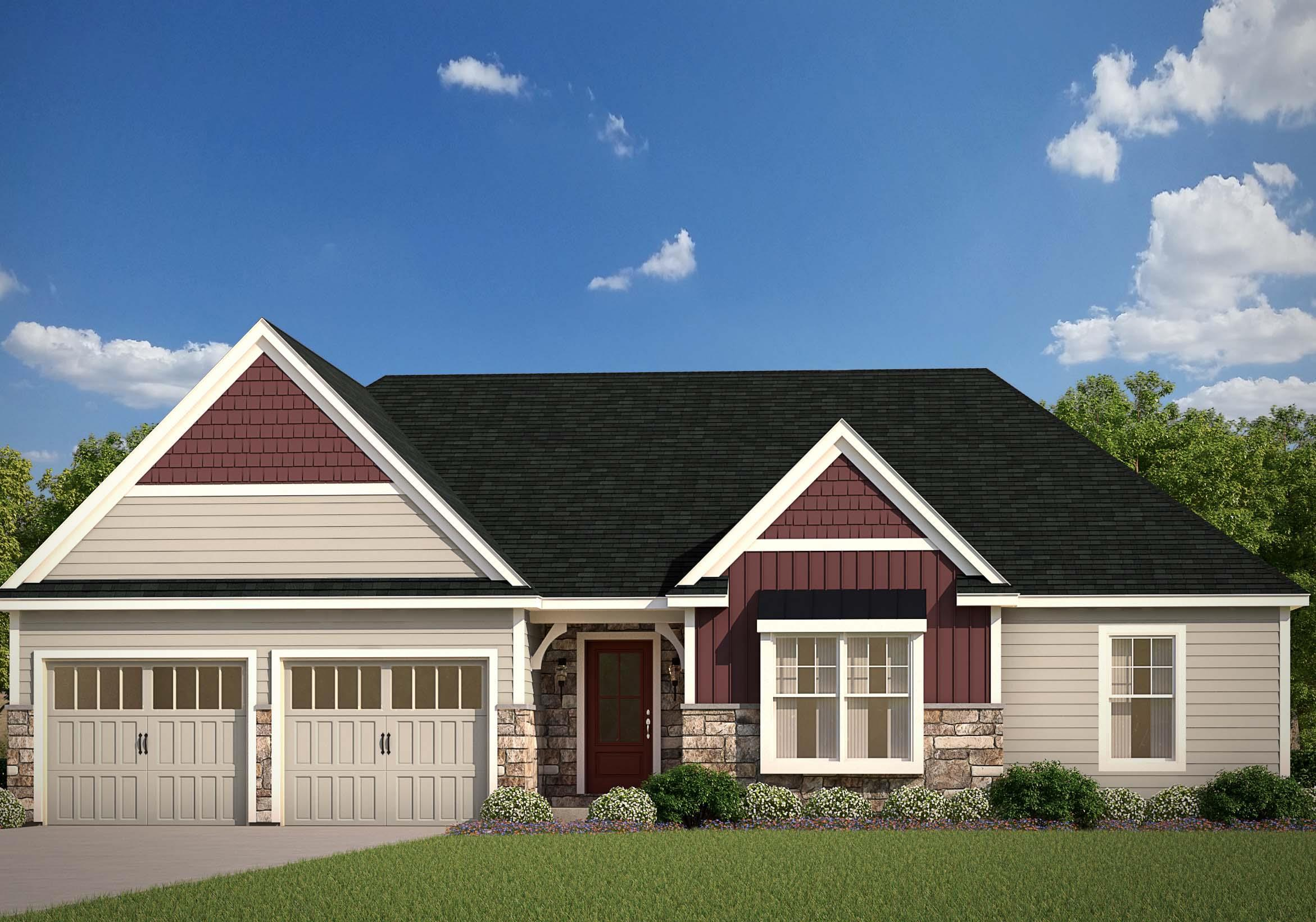 Exterior featured in the Milton By EGStoltzfus Homes, LLC in York, PA