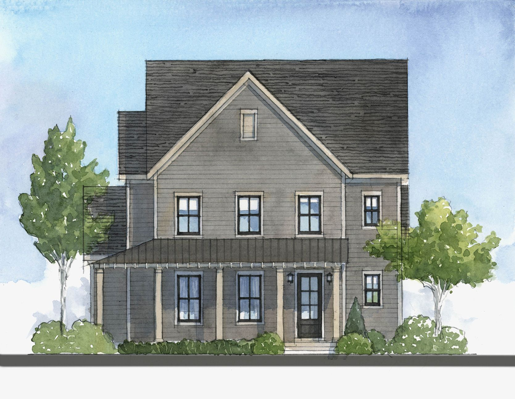Exterior featured in the Huntington By Empire Communities in Atlanta, GA