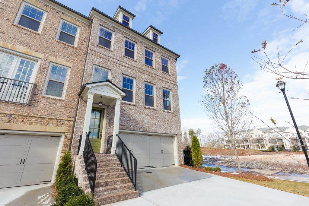 Exterior featured in the Hartford Townhome By Empire Communities in Atlanta, GA