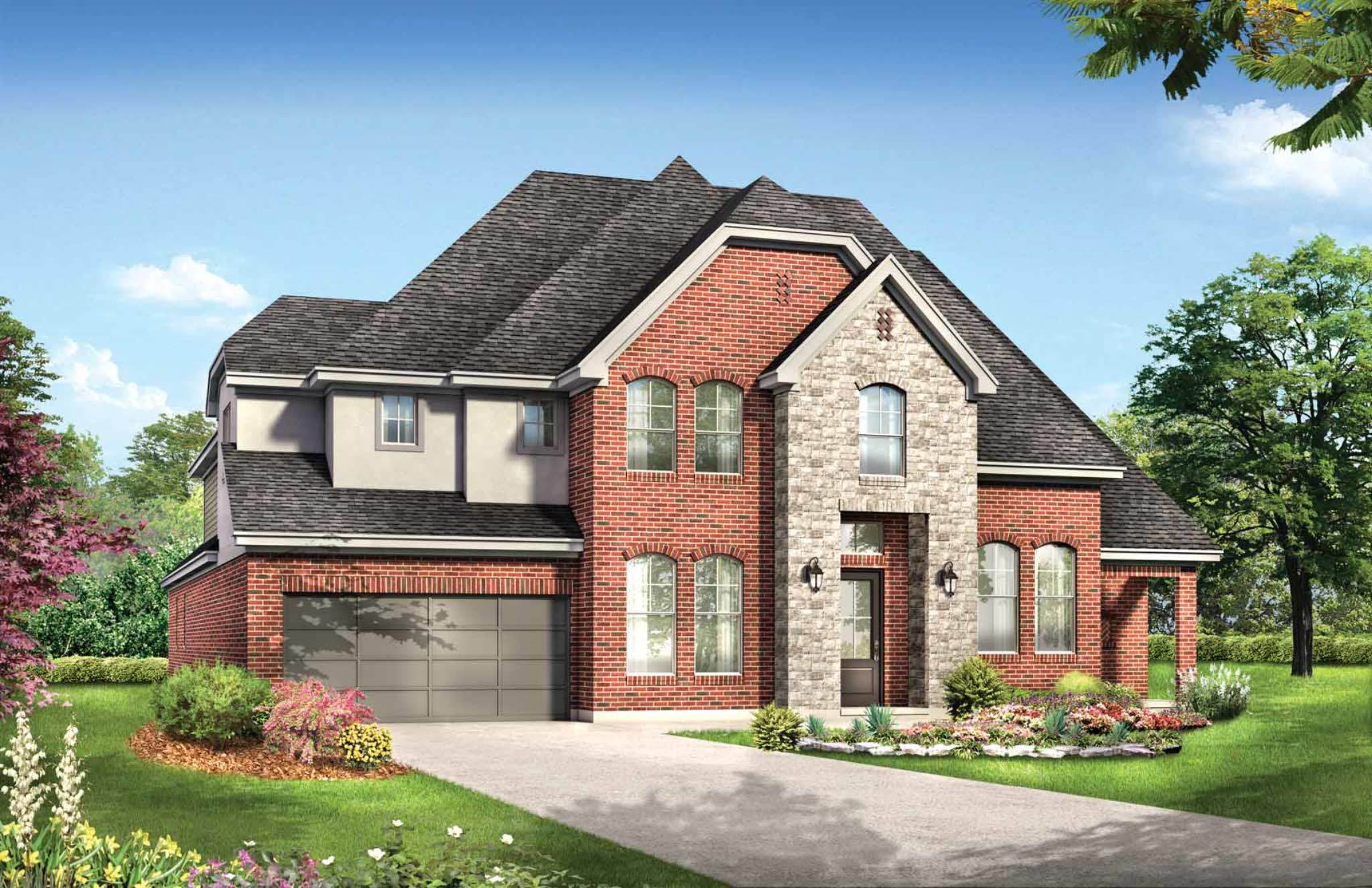 Exterior featured in the Indigo By Empire Communities in Houston, TX