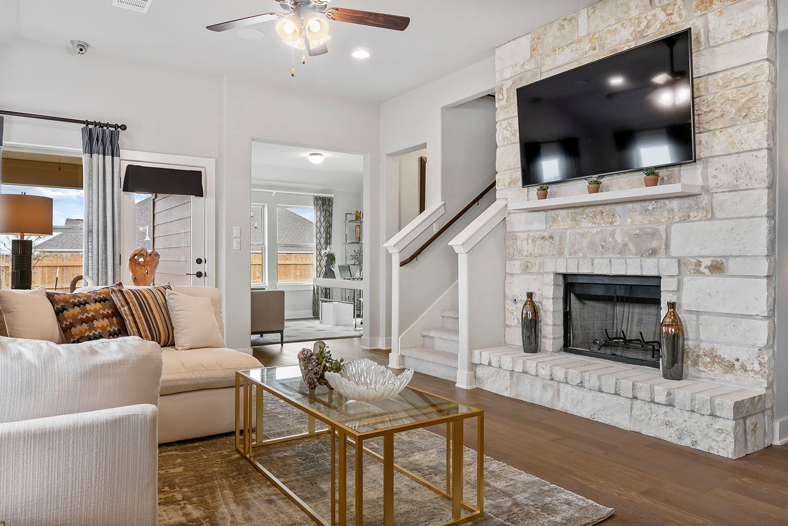 Living Area featured in the San Saba By Empire Communities in Austin, TX