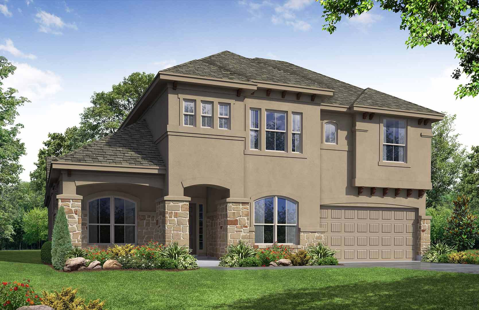 Exterior featured in the Campbell By Empire Communities in Austin, TX