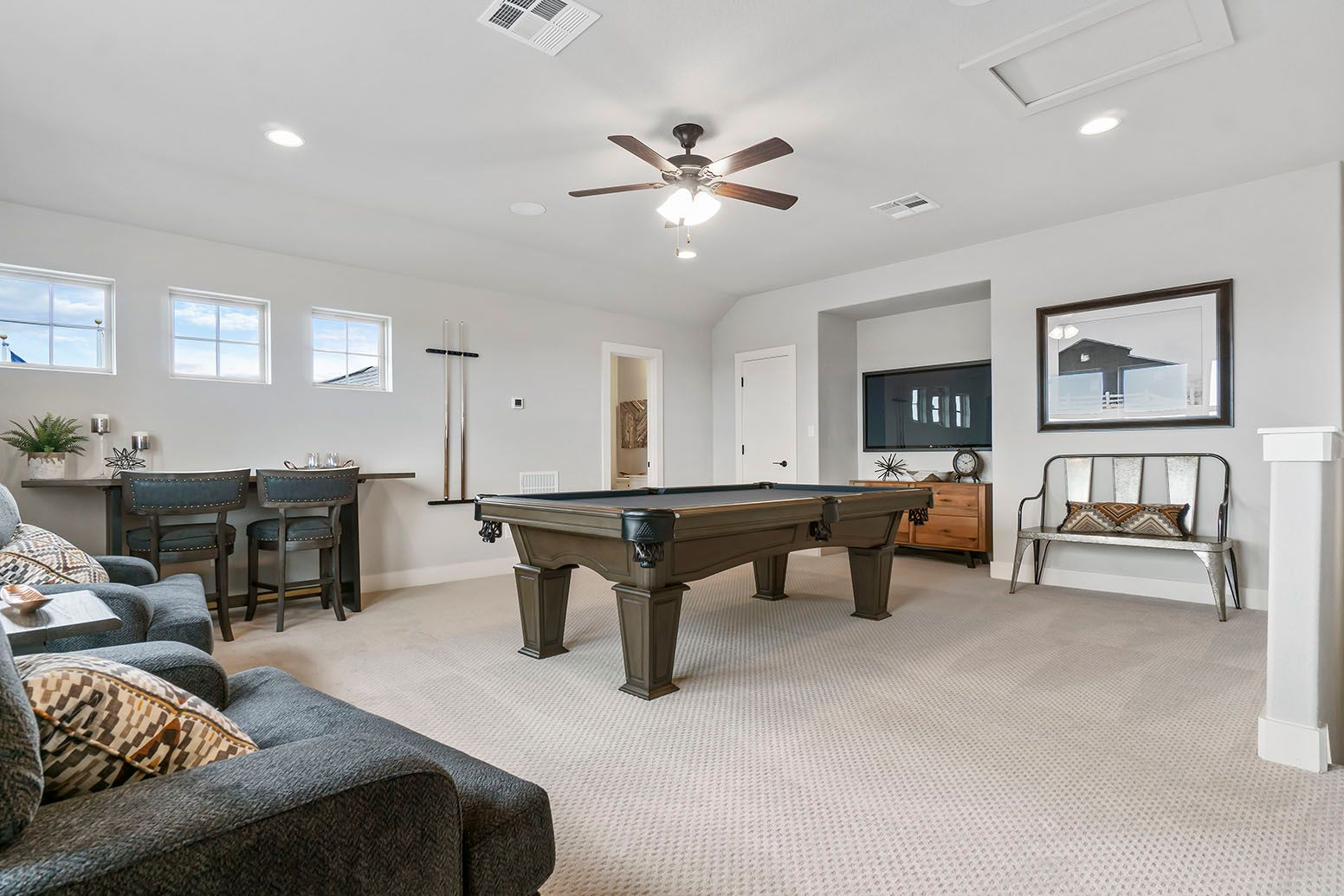 Living Area featured in the San Saba By Empire Communities in San Antonio, TX
