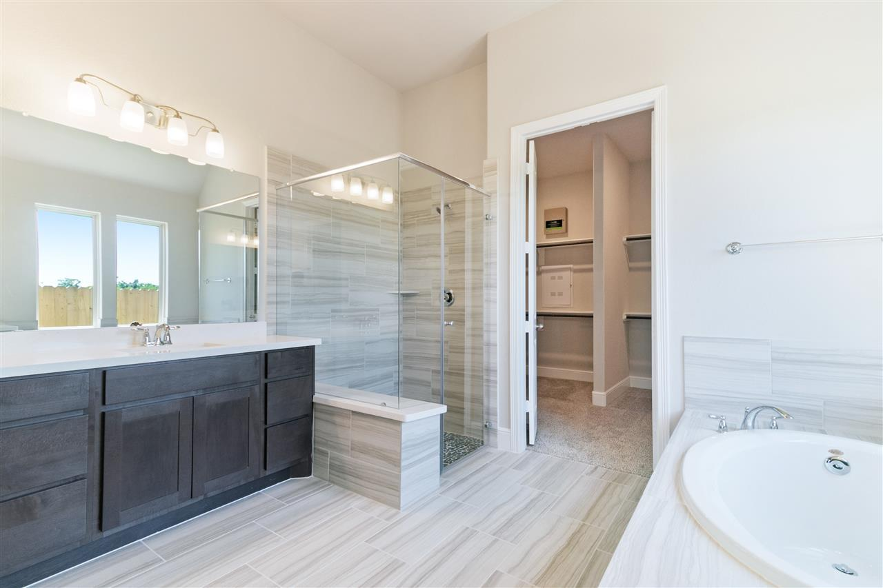 Bathroom featured in the Cobalt By Empire Communities in Houston, TX