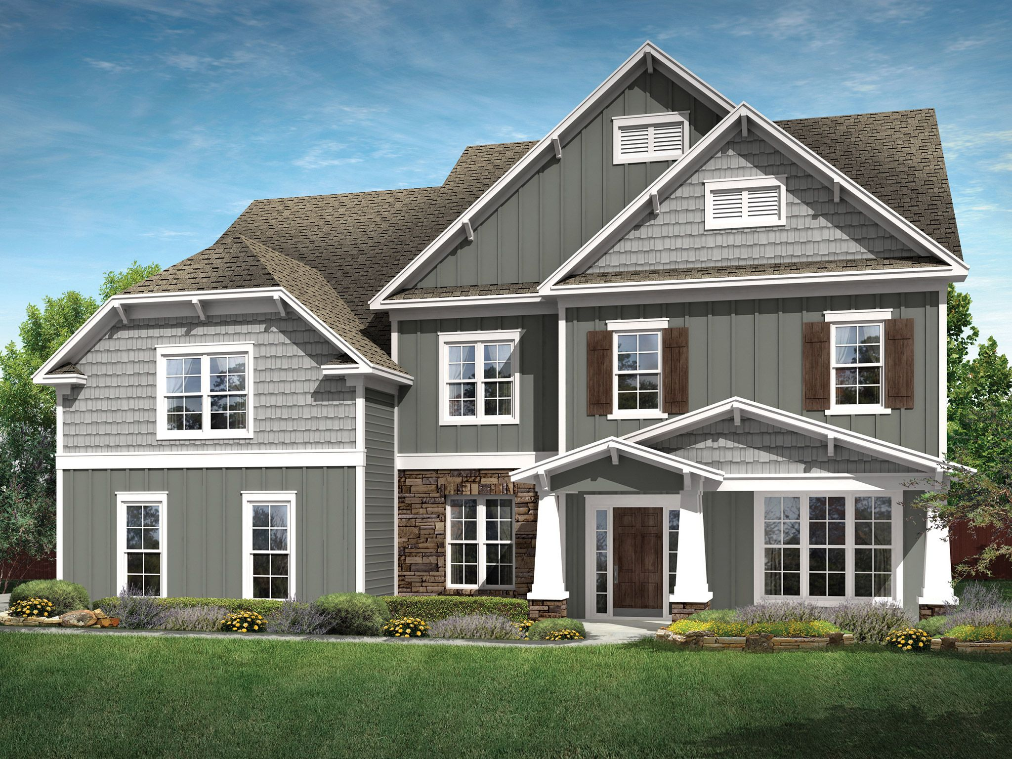 Exterior featured in the Hampton By Empire Communities in Charlotte, SC