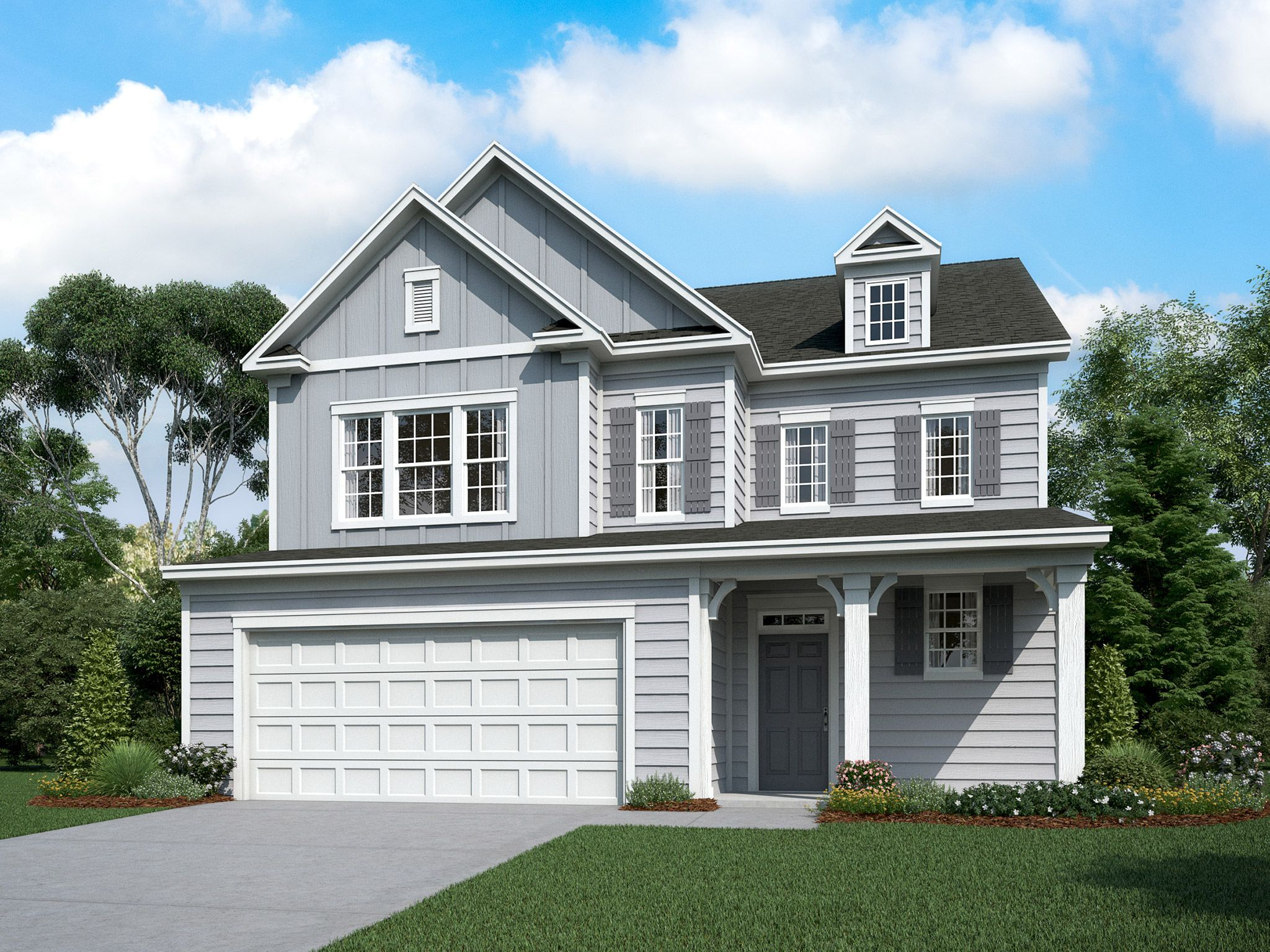 Exterior featured in the Cassidy By Empire Communities in Charlotte, NC