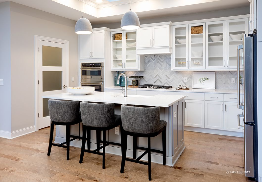 Kitchen featured in the Promenade III By Epcon Communities in Columbus, OH