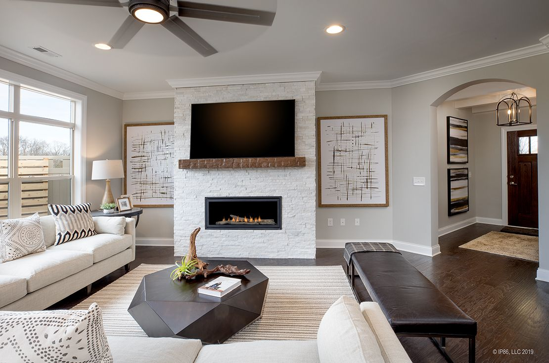 Living Area featured in the Promenade III By Epcon Communities in Columbus, OH