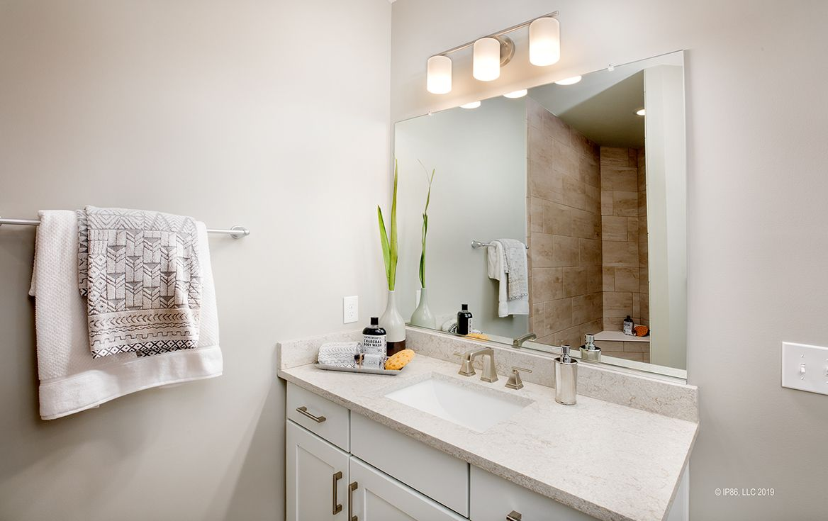 Bathroom featured in the Promenade III By Epcon Communities in Columbus, OH