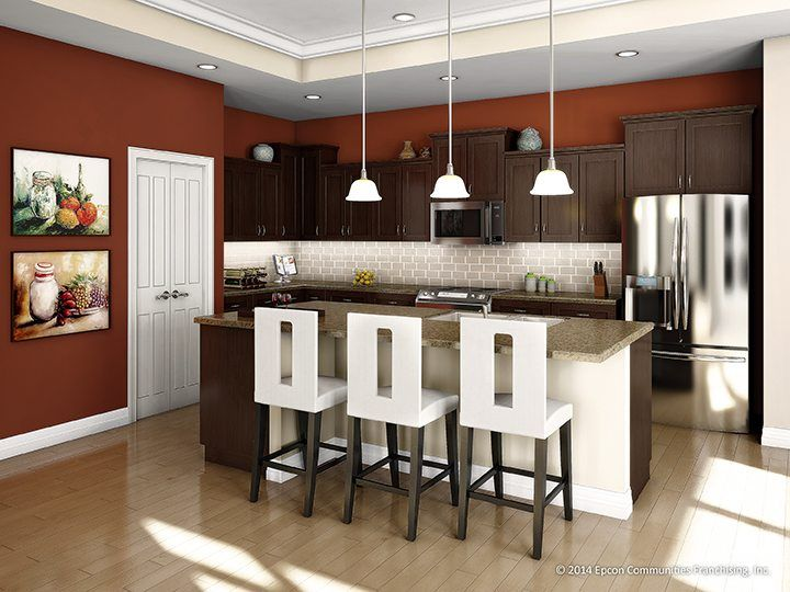 Kitchen featured in the Salerno By Epcon Communities in Columbus, OH