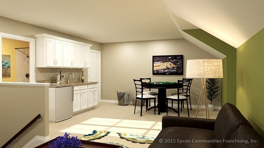 Living Area featured in the Salerno By Epcon Communities in Columbus, OH