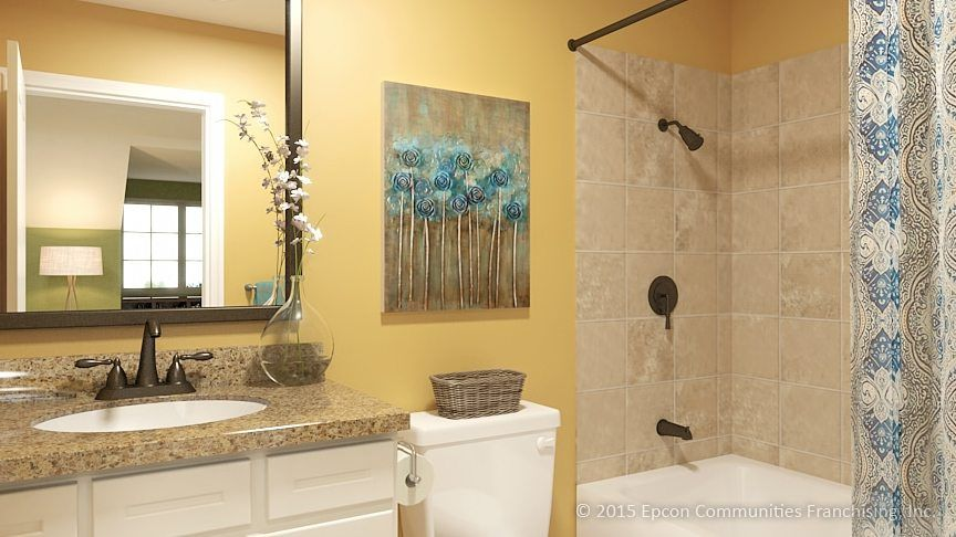 Bathroom featured in the Salerno By Epcon Communities in Columbus, OH