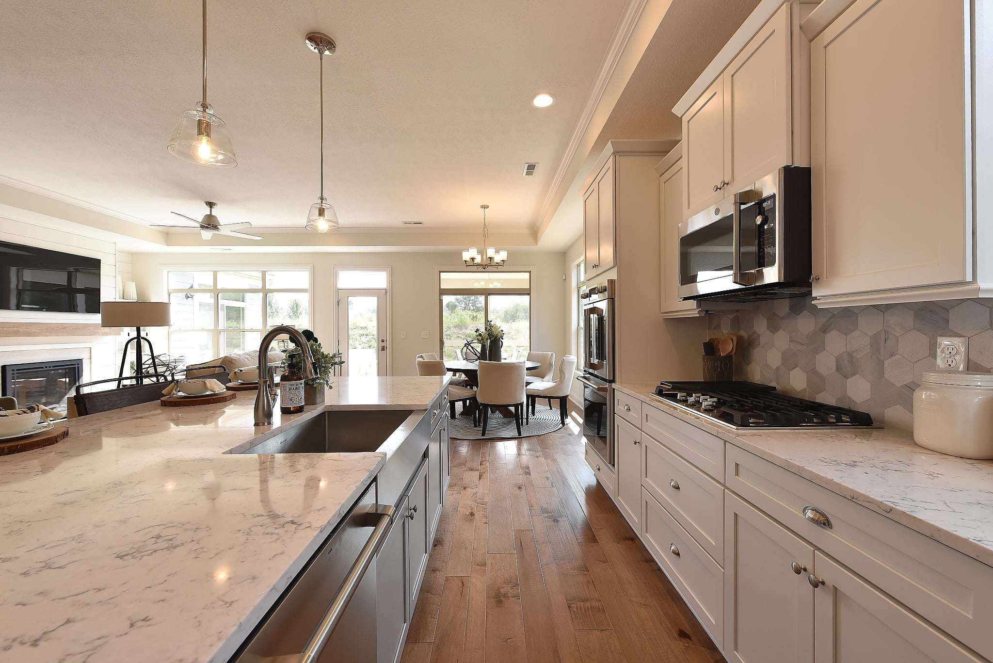 Kitchen featured in the Torino By Epcon Communities in Columbus, OH