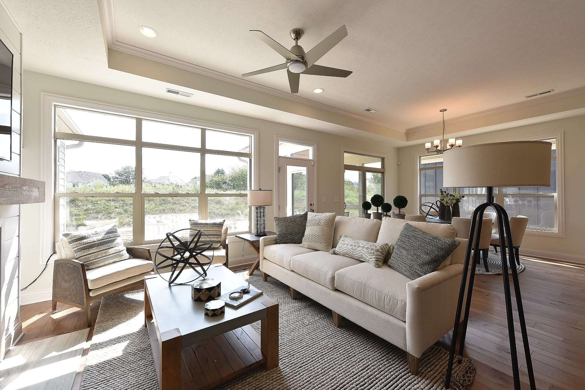 Living Area featured in the Torino By Epcon Communities in Columbus, OH