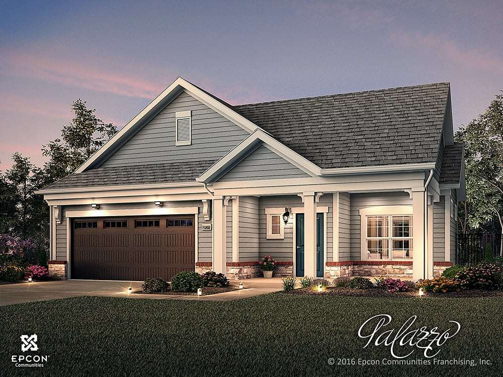 Exterior featured in the Palazzo By Epcon Communities in Columbus, OH