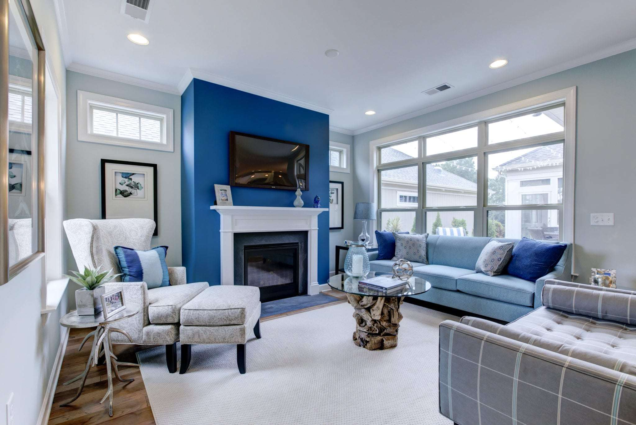 Living Area featured in the Palazzo By Epcon Communities in Columbus, OH