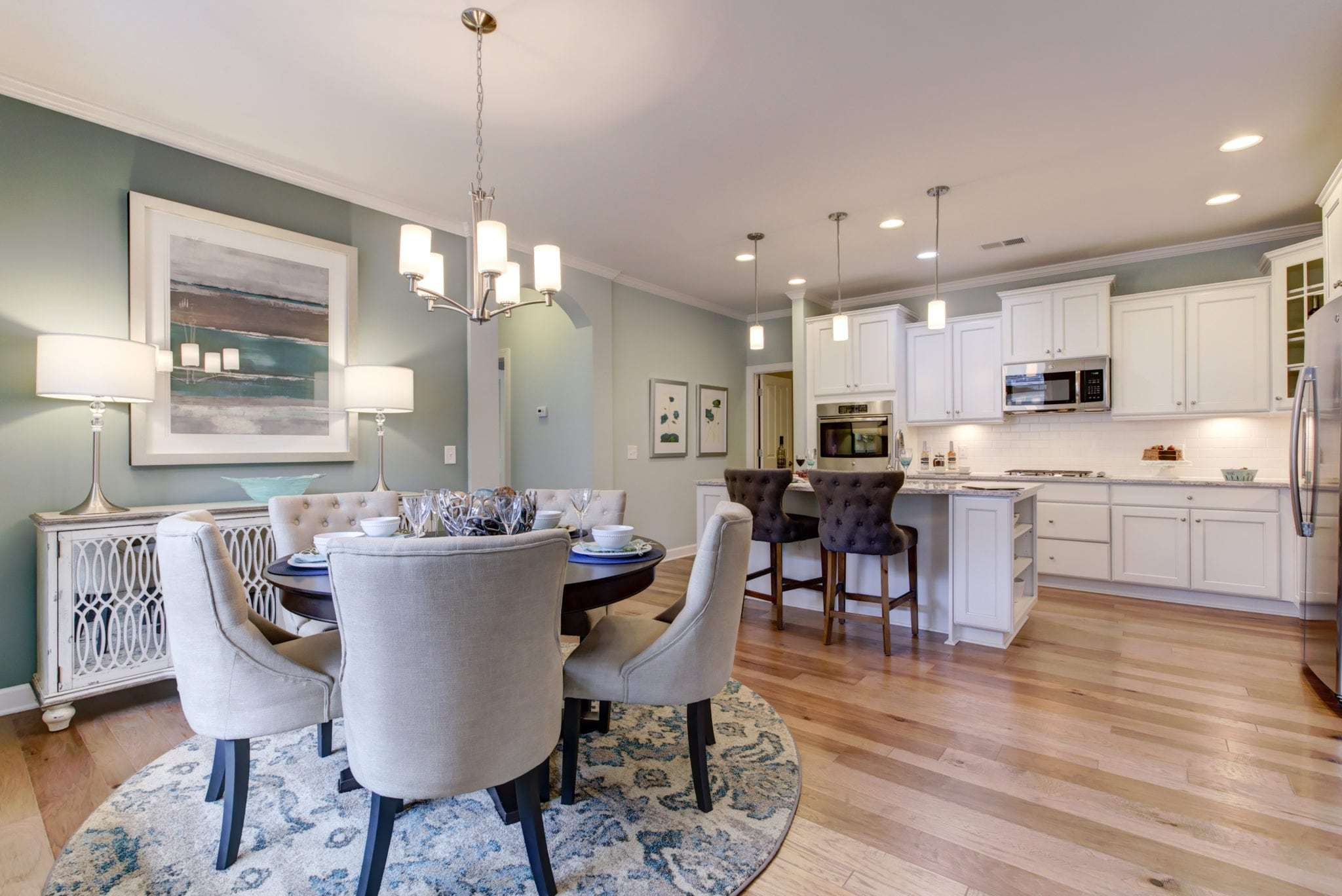 Kitchen featured in the Palazzo By Epcon Communities in Columbus, OH