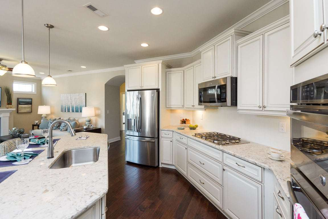 Kitchen featured in the Portico By Epcon Communities in Columbus, OH