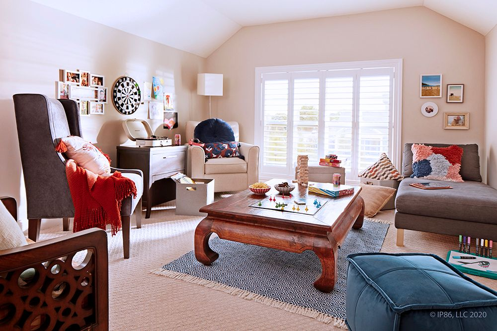 Living Area featured in the Verona By Epcon Communities in Columbus, OH