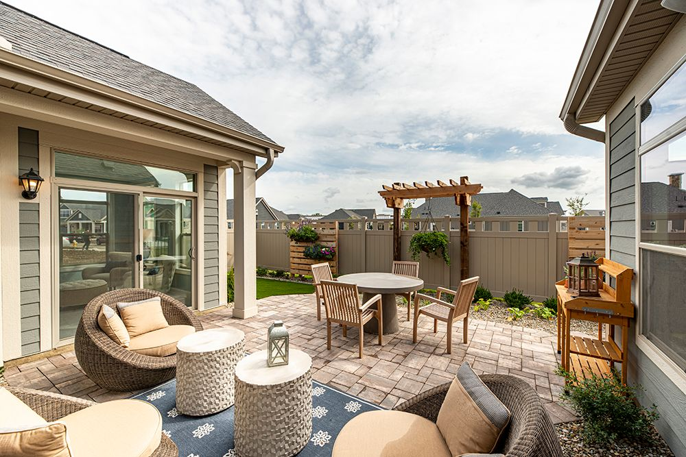 'The Courtyards at Beulah Park' by Epcon Communities in Columbus