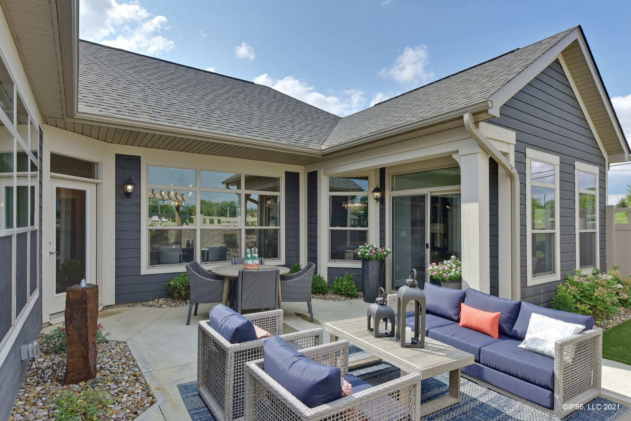'The Courtyards at the Ravines' by Epcon Communities in Columbus