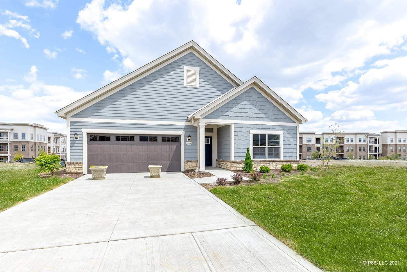 Exterior featured in the Capri IV By Epcon Communities in Columbus, OH