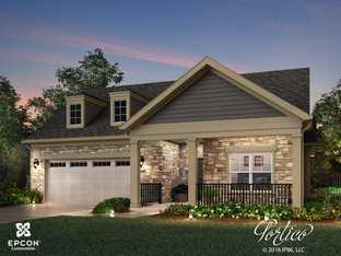 Portico - The Courtyards on Hyland Run: Plain City, Ohio - Epcon Communities