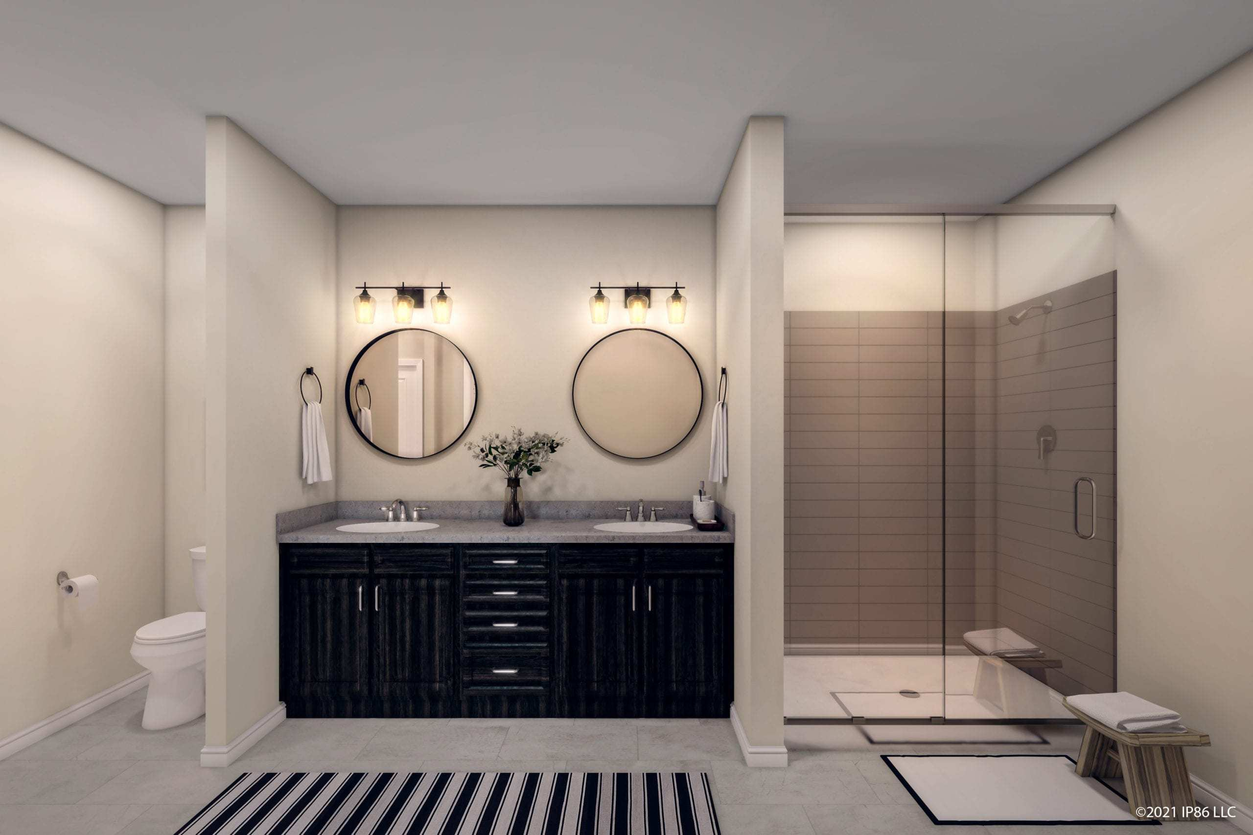 Bathroom featured in the Portico By Epcon Communities in Columbus, OH