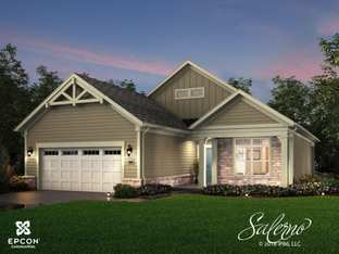 Salerno - The Courtyards at Clear Creek: Delaware, Ohio - Epcon Communities