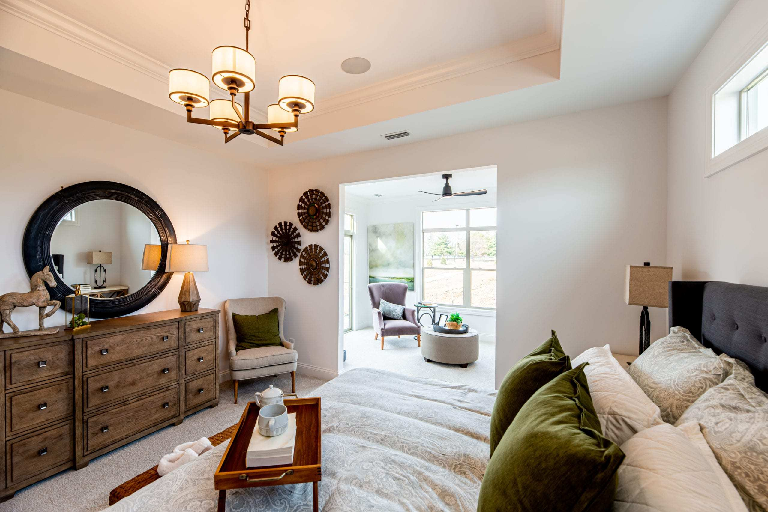 Bedroom featured in the Torino II By Epcon Communities in Columbus, OH
