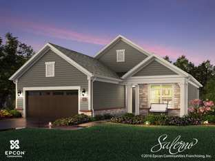Salerno - The Courtyards at Carr Farms: Hilliard, Ohio - Epcon Communities