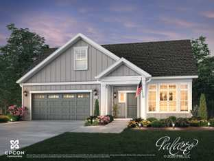 Palazzo - The Courtyards at Morse Circle: New Albany, Ohio - Epcon Communities