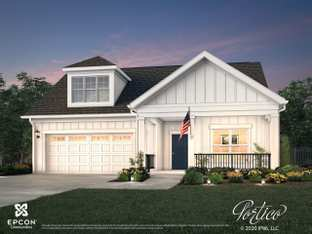 Portico - The Courtyards at Morse Circle: New Albany, Ohio - Epcon Communities
