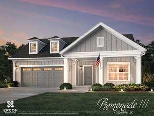 Promenade III - The Courtyards at Morse Circle: New Albany, Ohio - Epcon Communities