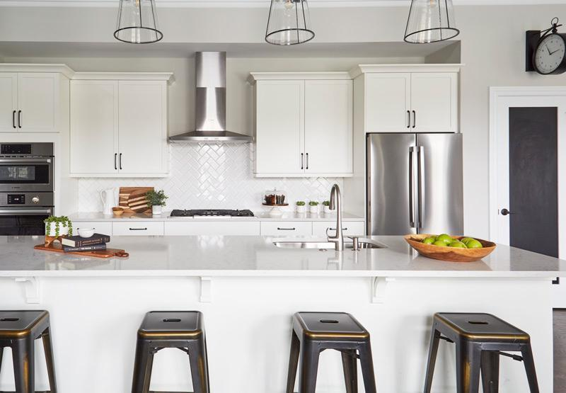 Kitchen featured in the Becket By Edward James in Chicago, IL