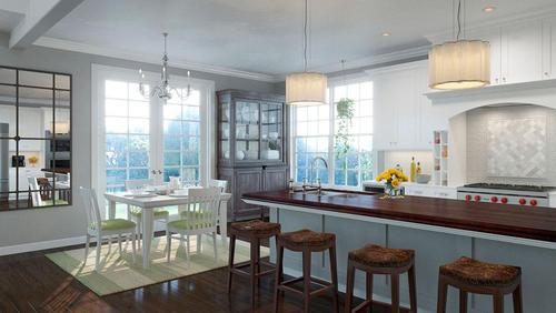 Dining-in-Hampton Ranch-at-Anets Woods of Northbrook-in-Northbrook