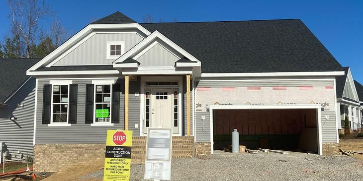 Eagle Construction Harpers Mill Homesite 11:Move-In Ready Hadley