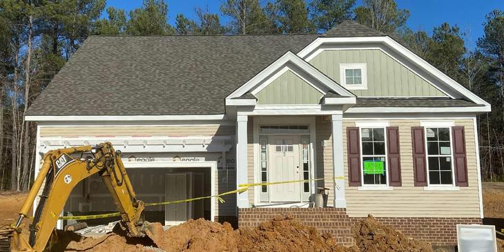 Eagle Construction Harpers Mill Homesite 37:Move-In Ready Hadley