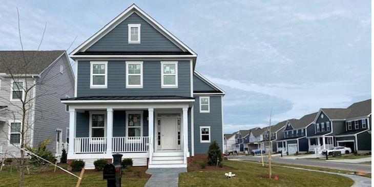 Eagle Construction Culpepper Landing Homesite 806:Move-In Ready Hickory