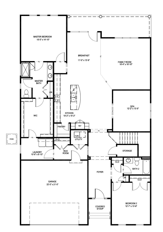 Fulton Home Plan By Eagle In Parkside Village