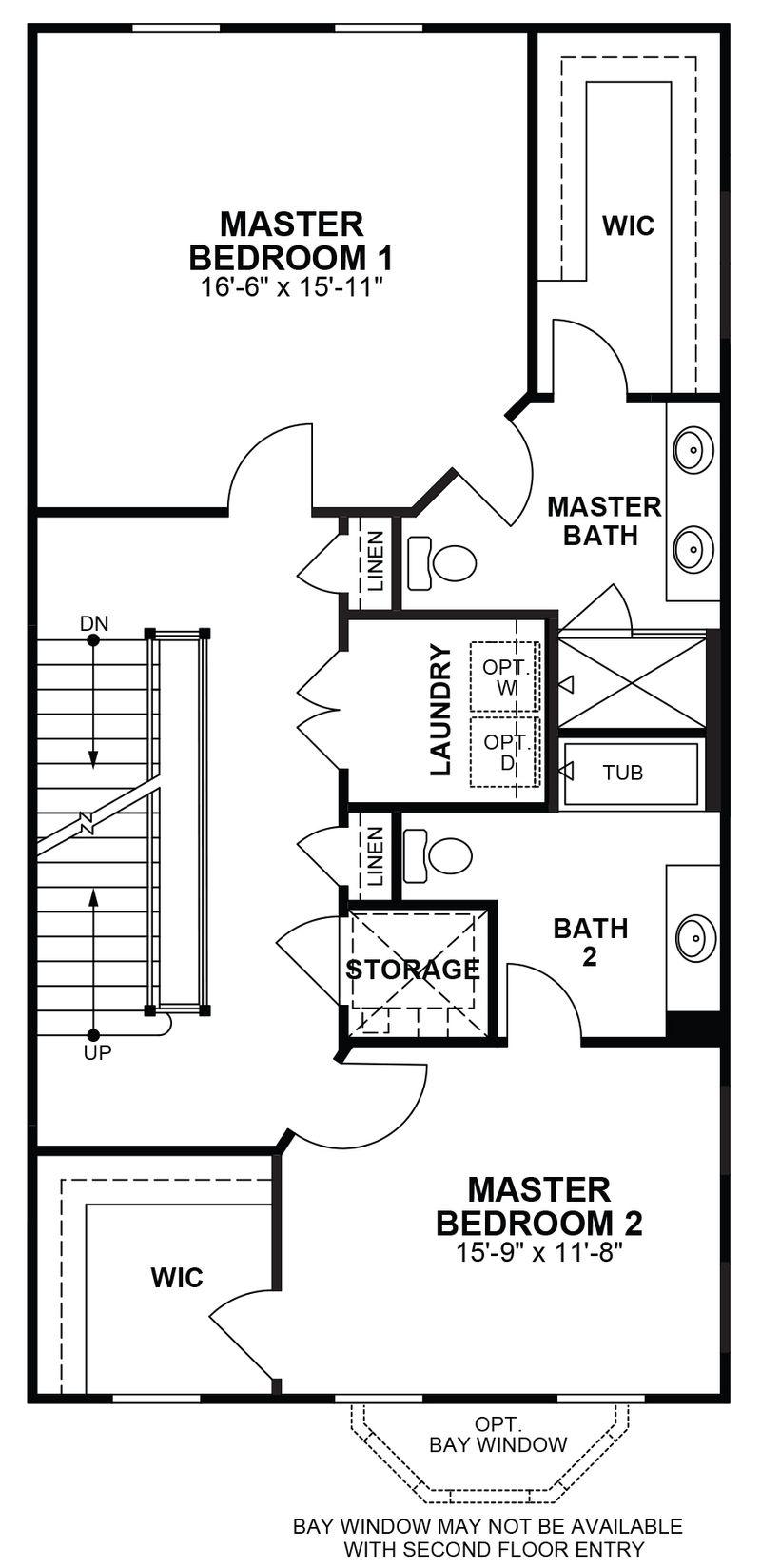 Westmoreland Third Floor Dual Masters