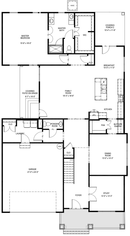 Carlisle First Floor Updated