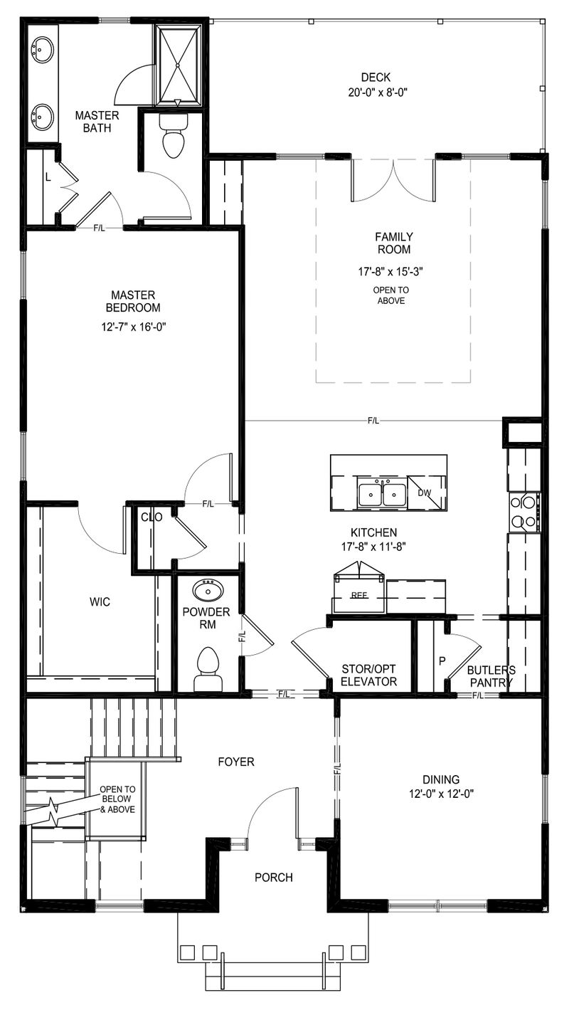 Lafayette Home Plan By Eagle In First Floor Masters