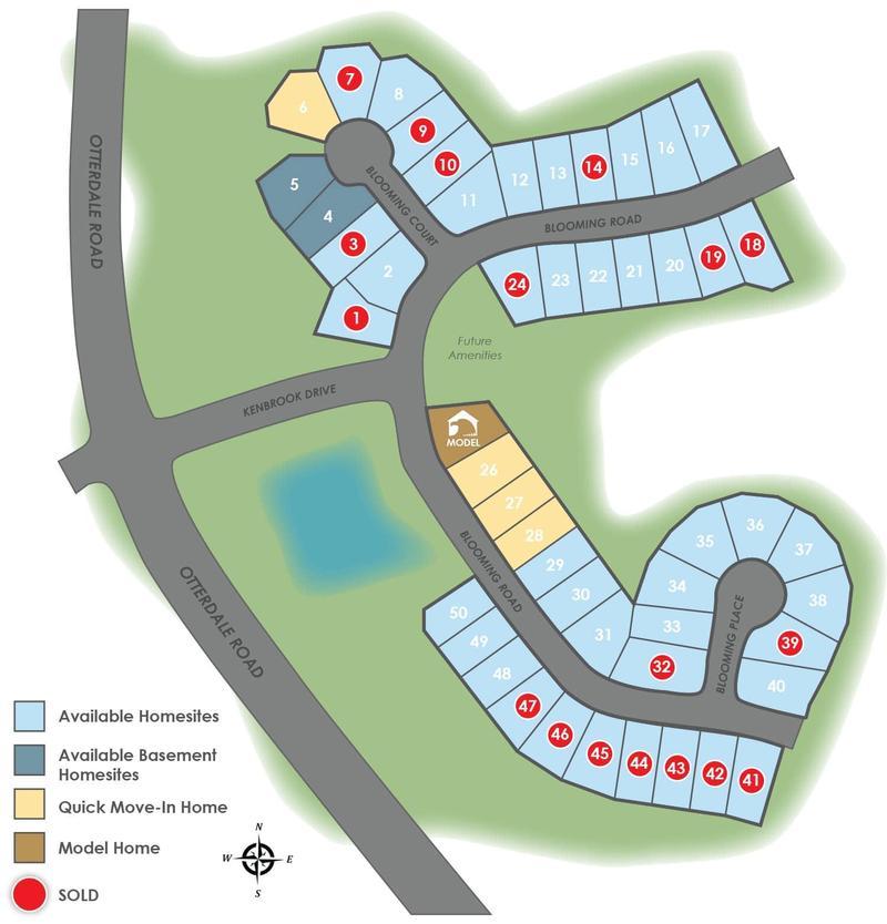 Kenbrook at Harpers Mill Site Plan