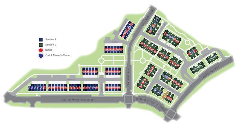 Eagle Construction Village Walk Site Plan
